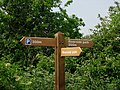 New signpost - geograph.org.uk - 827433.jpg