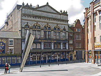 Tyne Theatre and Opera House - Image: Newcastle the journal thyne theater