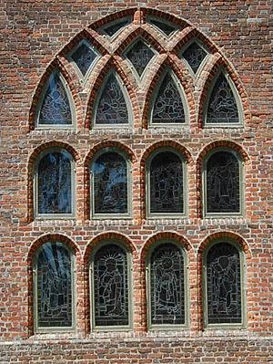 St. Luke's Church (Smithfield, Virginia) - Great window in the east end