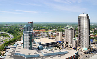 Niagara Fallsview Casino Resort - Fallsview Casino as seen from above