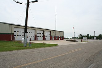 Niantic, Illinois - Image: Niantic Illinois Fire Station