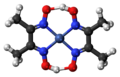 Nickel dimethylglyoxime complex ball.png