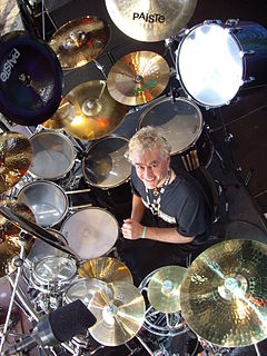 Nigel Glockler British musician