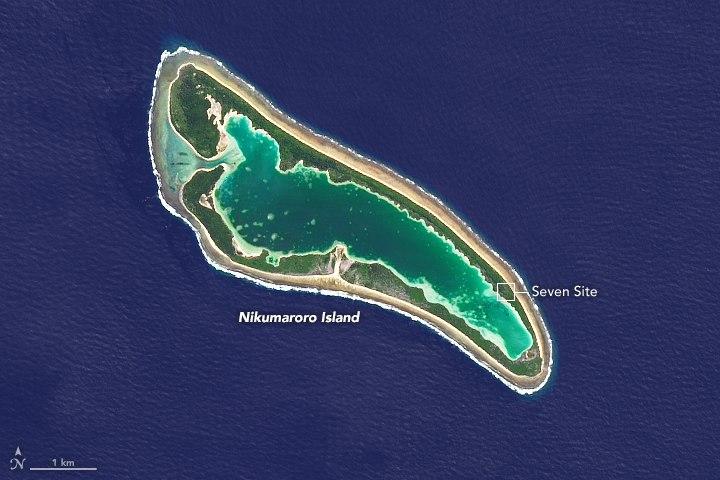 Nikumaroro Atoll 2014