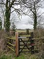 No access to this little wood - geograph.org.uk - 1768683.jpg
