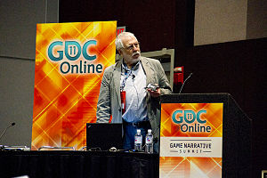 Video game - Nolan Bushnell at the Game Developers Conference in 2011