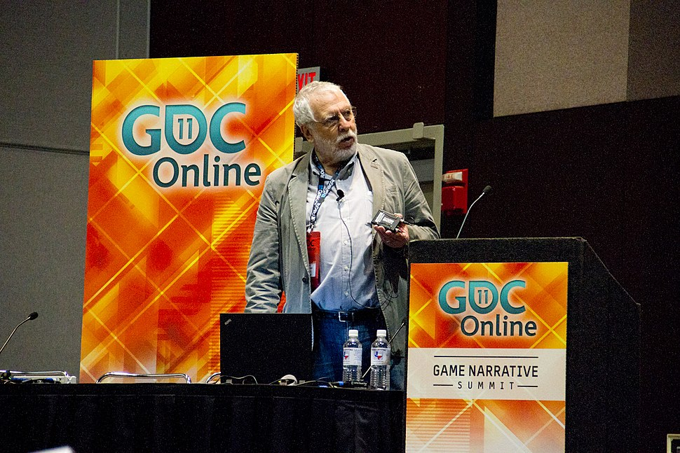Nolan Bushnell - Game Developers Conference Online 2011 (4)