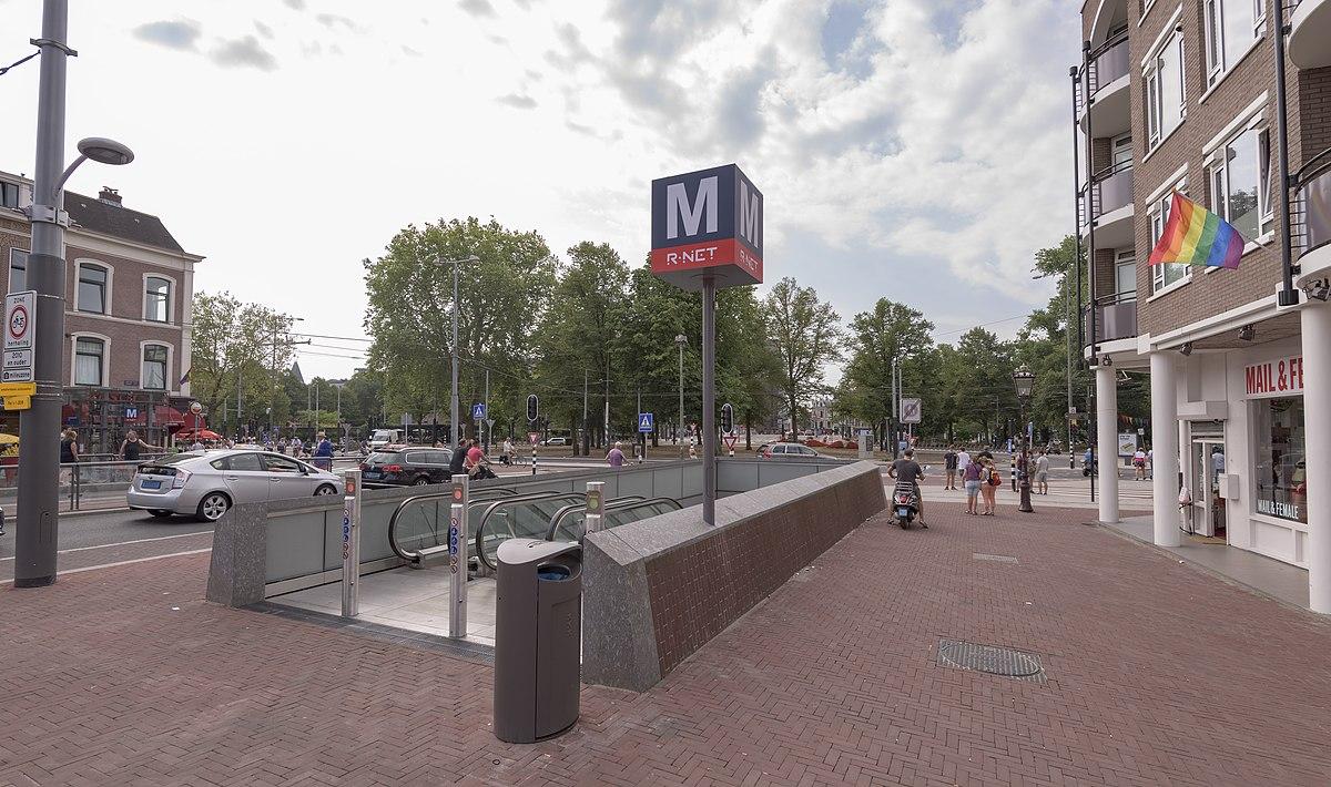 Vijzelgracht metro station - Wikipedia