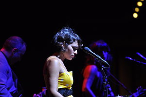 Norah Jones - Jones performing at Auditorium Parco della Musica, Rome