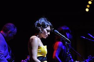 Norah Jones - Jones performing at Auditorium Parco della Musica, Rome