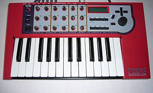Clavia Nord Modular synthesizer (G1, keyboard ...