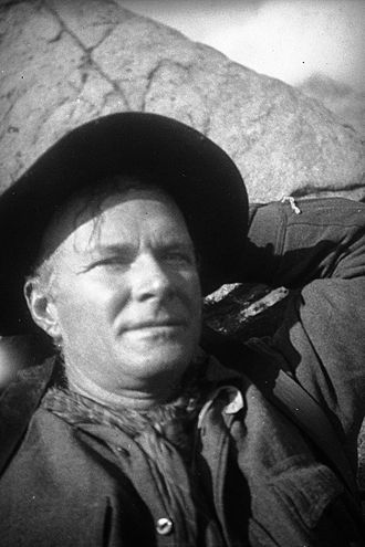 Norman Clyde - Norman Clyde in the Sierra Nevada in 1931