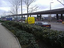 North Circular overpass, Staples Corner - geograph.org.uk - 1202537.jpg