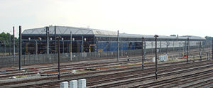 West London Line - File:North Pole depot trainshed
