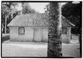 North elevation - Kingsley Plantation, Slave Quarters, 11676 Palmetto Avenue, Jacksonville, Duval County, FL HABS FL-478-A-4.tif