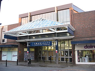Wellingborough - The Swansgate Shopping Centre in 2008