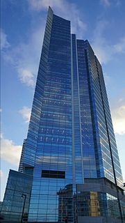 Northwestern Mutual Tower and Commons building in Milwaukee, Wisconsin, United States