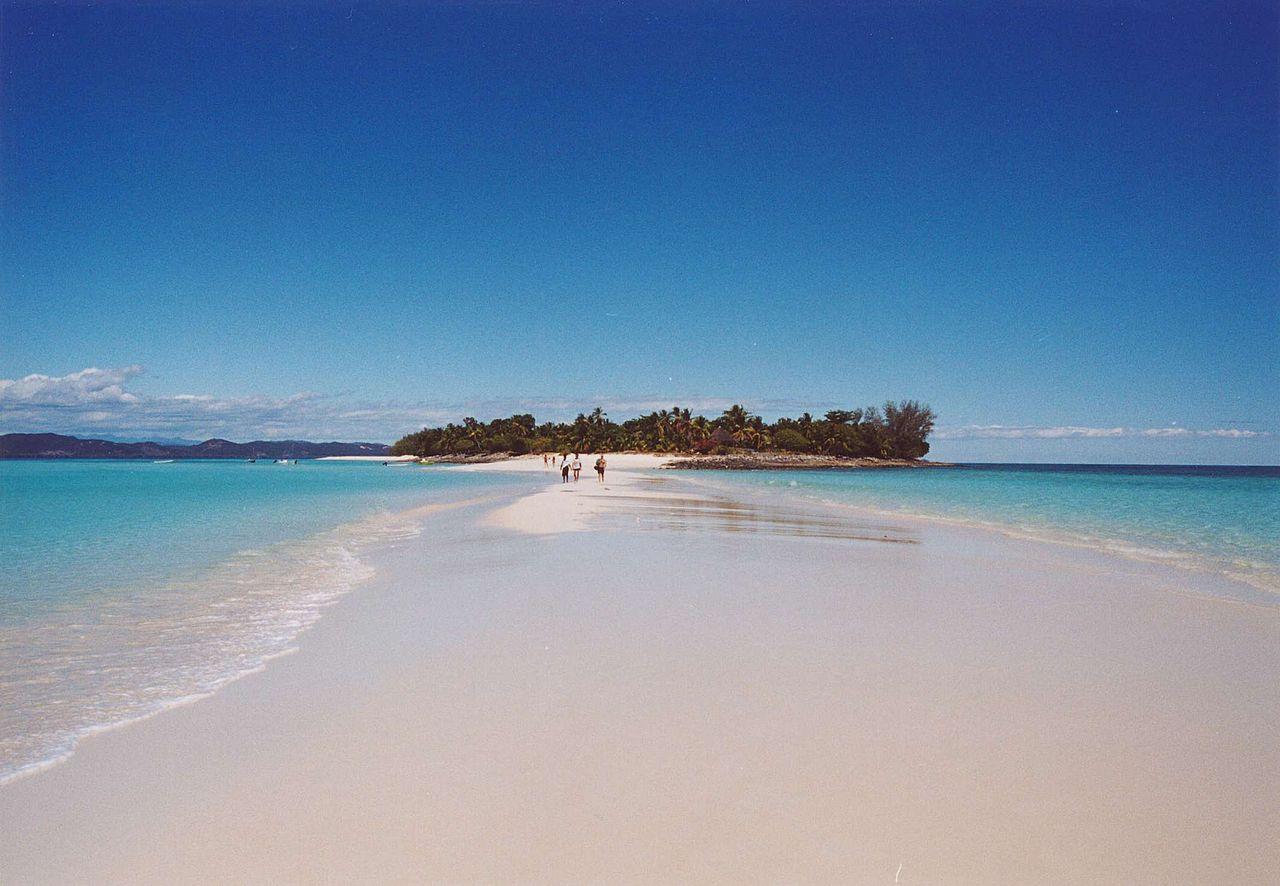 Nosy Iranja adalah salah satu tujuan wisata internasional di Madagaskar