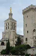 Notre-Dame des Doms et tour de la Gache.jpg