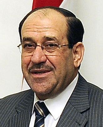 Iraqi parliamentary election, 2014 - Image: Nouri al Maliki 2011 04 07