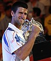Novak Djokovic AO win 2011.jpg