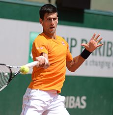 Novak Djokovič na French Open 2015