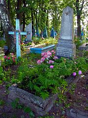 Novosilky Turiyskyi Volynska-grave of the unknown soviet warrior in the cemetery-I.jpg