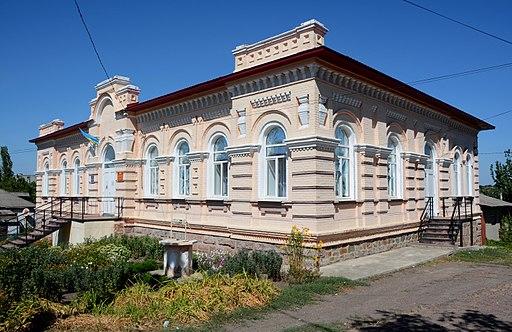 Волосне правління, Новоукраїнка, вул. Гагаріна,17. Автор фото — Наталія Шестакова, вільна ліцензія CC BY-SA 4.0