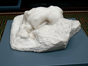 The Suppliants (Aeschylus) - La Danaide Statue by Rodin
