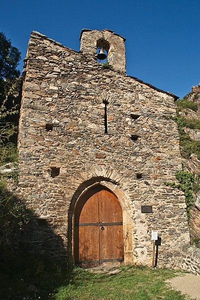 Château de la Roca d'Anyer, Notre-Dame de la Roca, XVème siècle