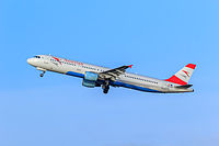 OE-LBE - A321 - Austrian Airlines