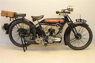 Blackburne (motorcycles) - OEC Blackburne 350 cc 1925