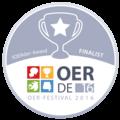 OER Festival 2016 - Badge - fOERder-Award Finalist.png