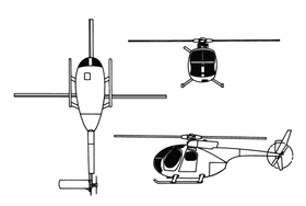 Image illustrative de l'article Hughes OH-6 Cayuse