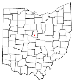 Location of Fulton, Ohio