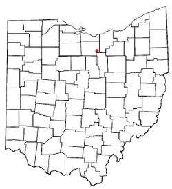Location of New London, Ohio
