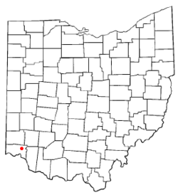 Location of Reading, Ohio