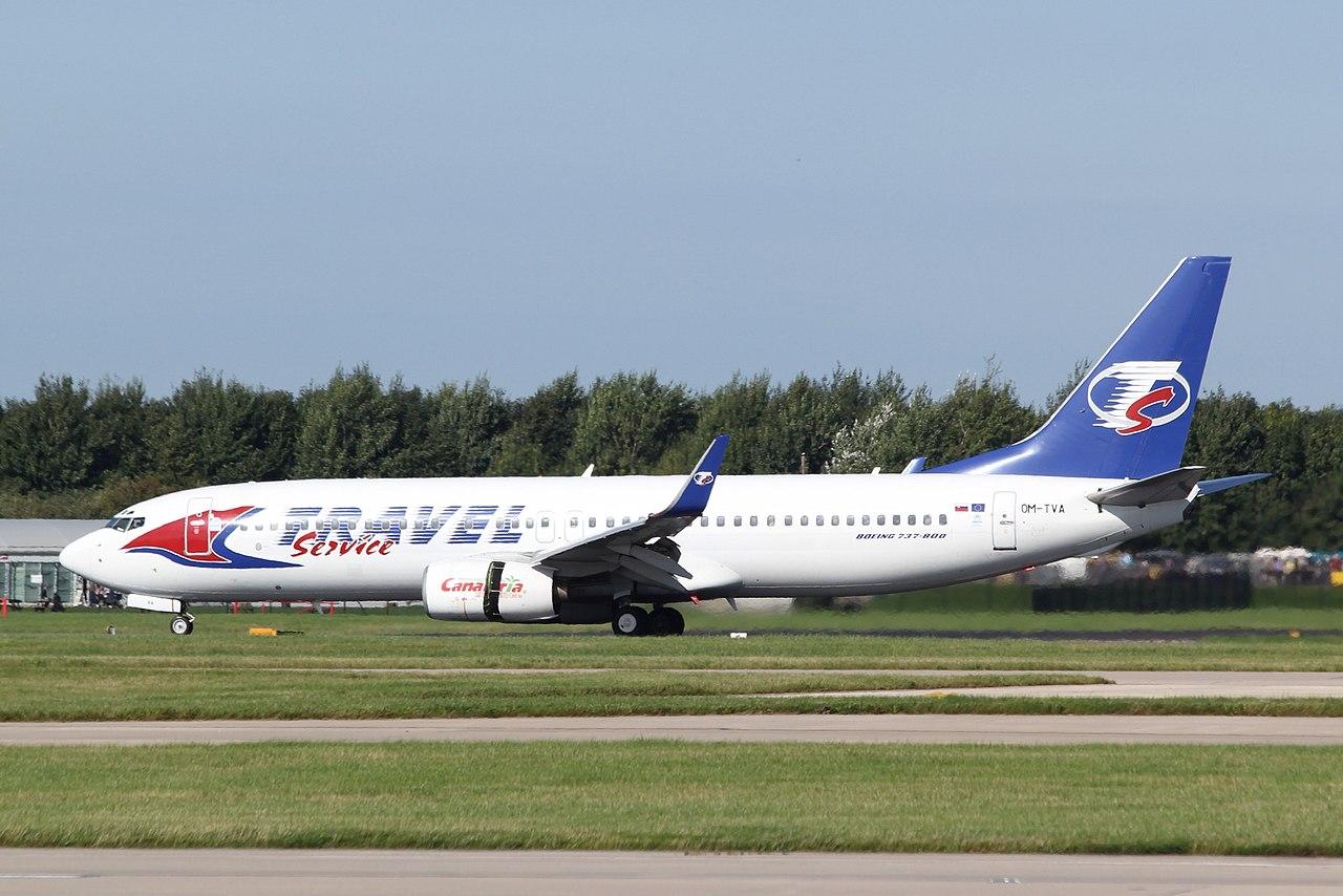 Bildresultat för travel service slovakia b737-800
