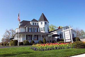 Funeral home - A funeral home in Islip, NY