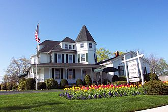 Funeral home - A funeral home in Islip, New York