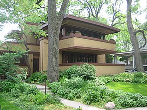 Laura Gale House - Image: Oak Park Il Mrs. Gale House 4