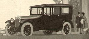 Oakland Motor Car Company - Oakland Sensible Six Sedan, from 1917 magazine ad