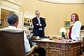 Obama McDonough Psaki April 1 2015.jpg