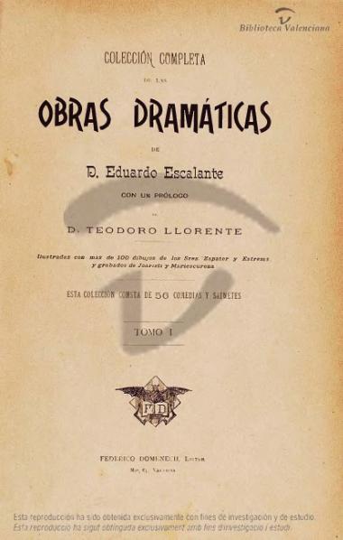 File:Obras dramáticas de D. Eduardo Escalante - Tomo I (1894).djvu