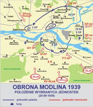 Battle of Modlin - Image: Obrona modlina 1939