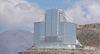 La Silla Observatory - The NTT telescope
