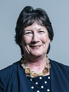Pauline Latham British politician