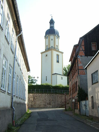 Ohrdruf - Tower of the St. Michaelis Kirche