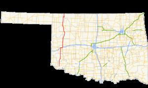Oklahoma State Highway 34 - Image: Ok 34 path