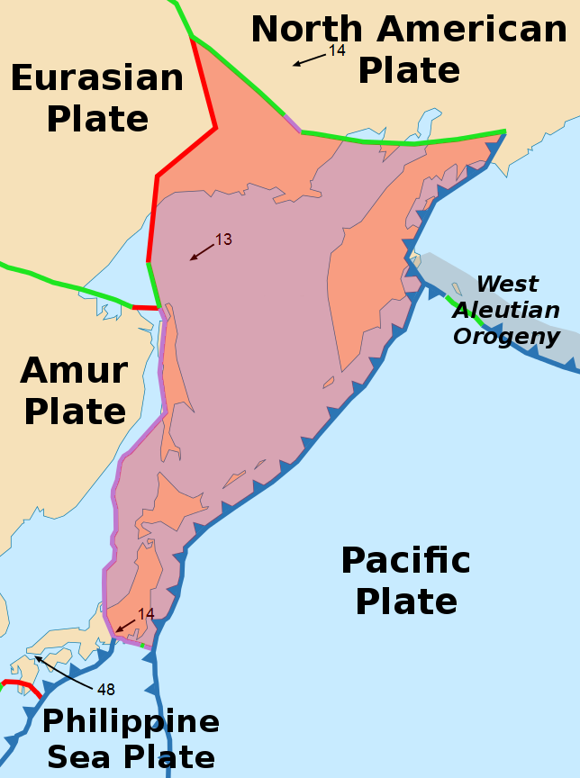 The Okhotsk Plate